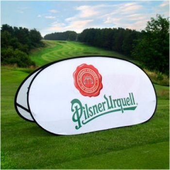 Pop Out Golf Banners