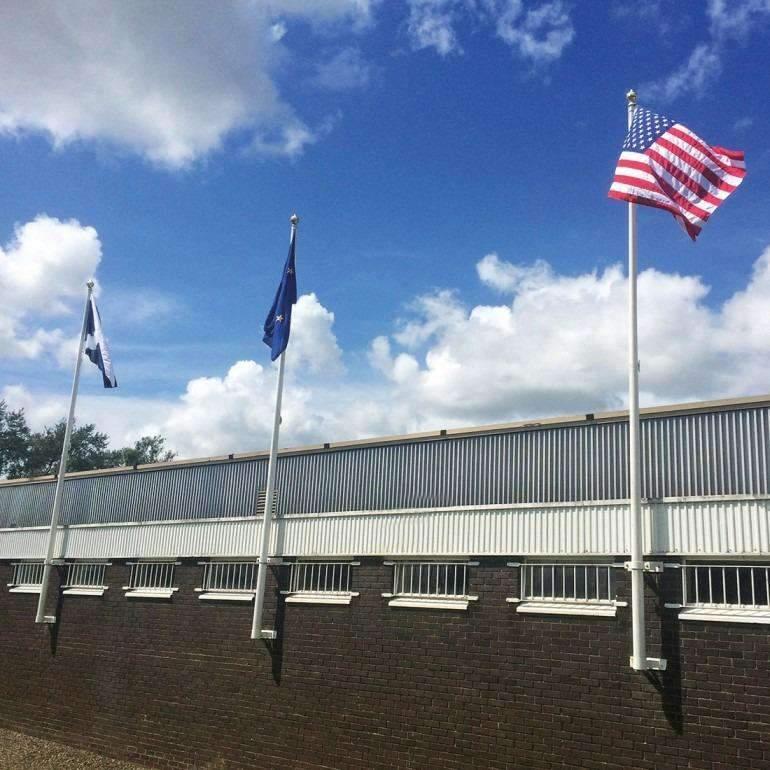 Wall Mounted Flag Poles