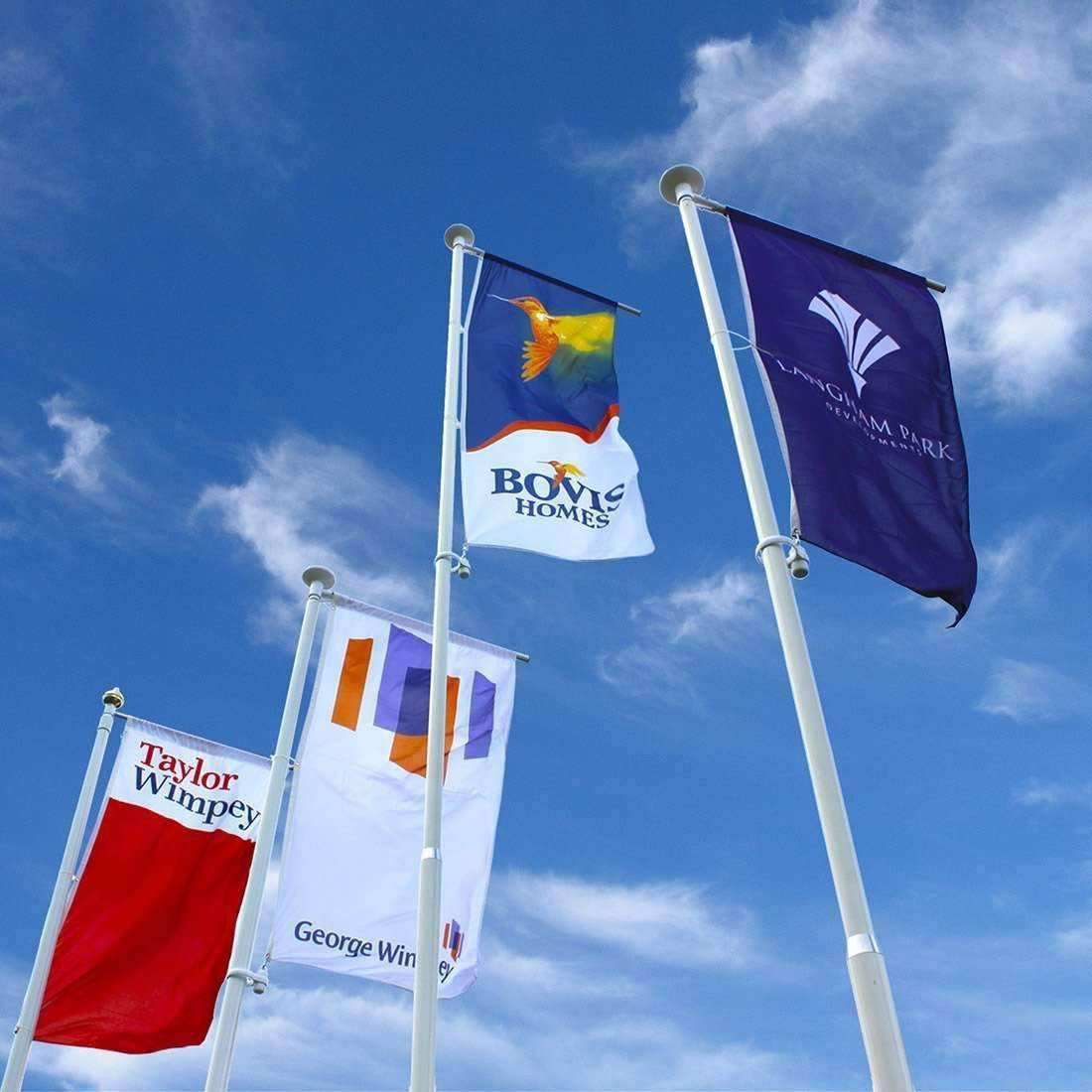 Builder Show Home Flags