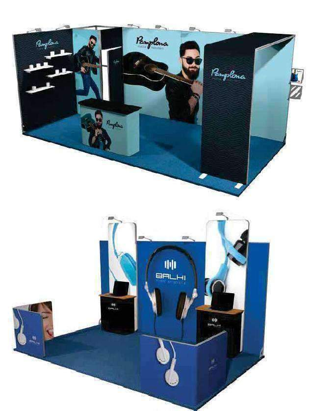 Large Exhibition Stands