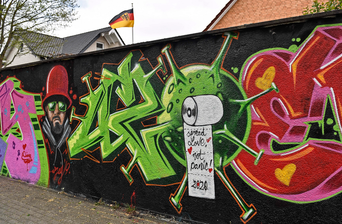 Another piece by Uzey in Hamm, Germany